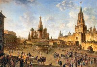 Fedor Alexeev. Red Square. Moscow, 19th century