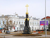 Architecture of old Simbirsk